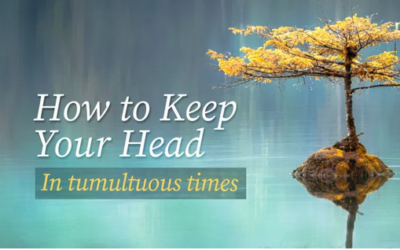 How to keep your head in tumultuous times